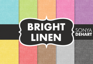 Bright Linen Fabric Texture Pack