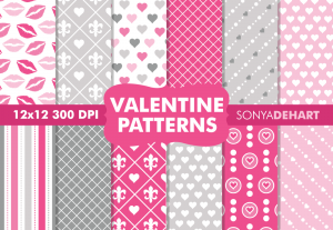 Valentine's Day Pattern Pack