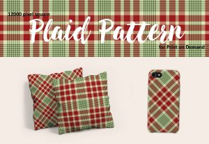 Christmas Plaid in Red, Green, and White – Exclusive!
